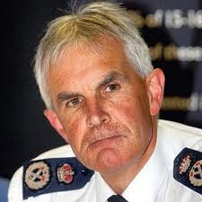 Chief Constable Peter Fahy hears the news of GMP's demise