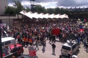 Rally in Castlefields