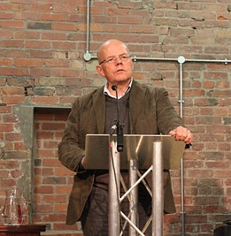 Michael Schmidt at the October 2011 Manchester Literary Festival
