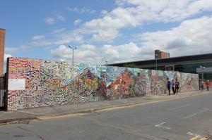 The Lomography wall on Tariff Street.