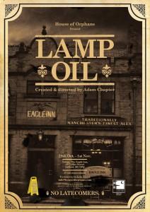 Lamp Oil Poster Pic