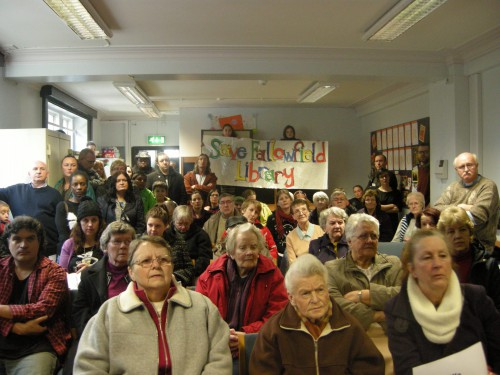 Save fallowfield library