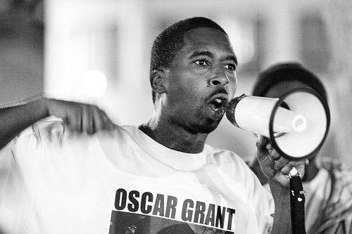 Police shooting victim Oscar Grant. Photograph: Thomas Hawk