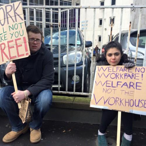 Maximus Demo - Welfare not Workfare