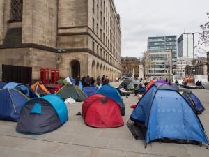 Tents camp